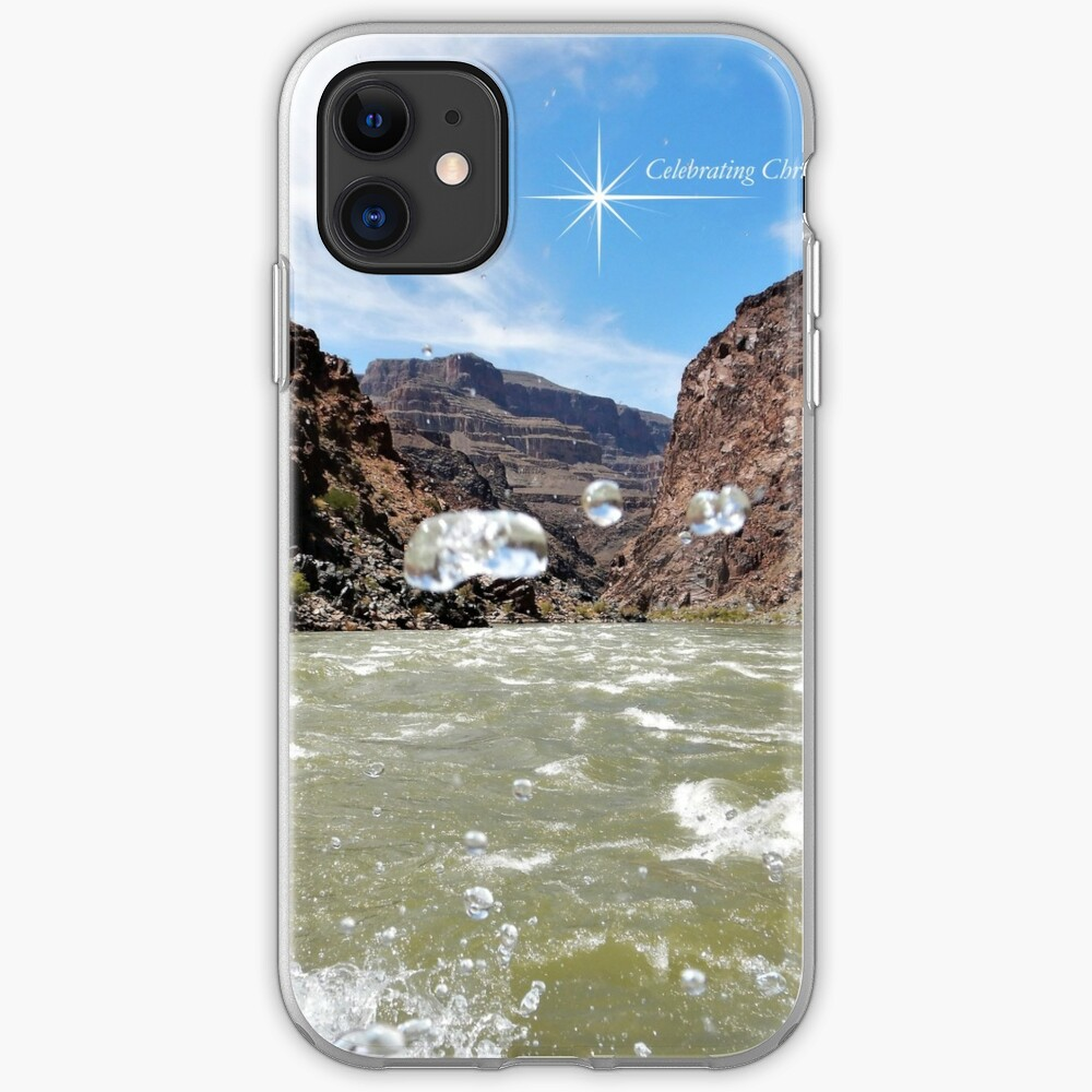 Colorado River Rafting Splash - From ccnow.info iPhone Case & Cover