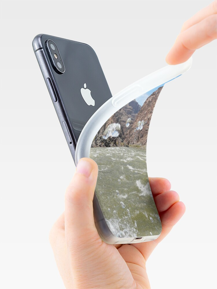 Alternate view of Colorado River Rafting Splash - From ccnow.info iPhone Case & Cover