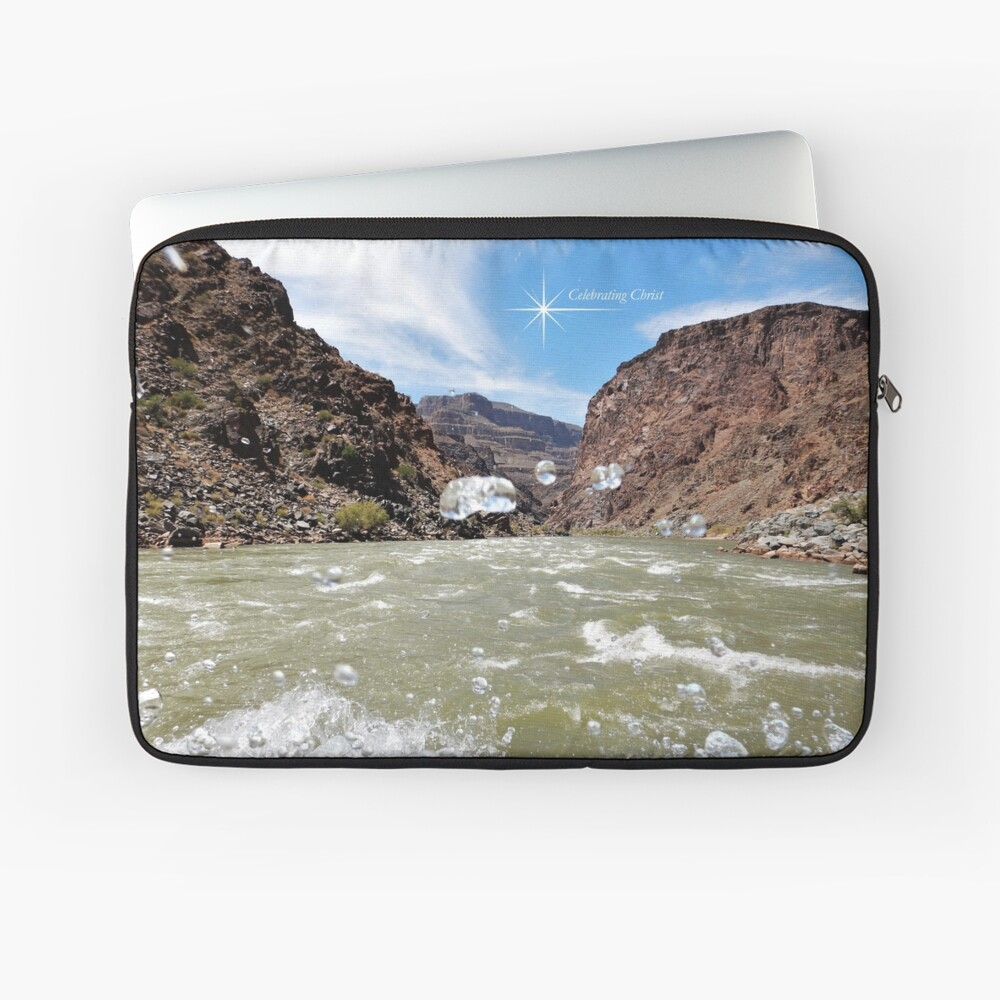 Colorado River Rafting Splash - From ccnow.info Laptop Sleeve
