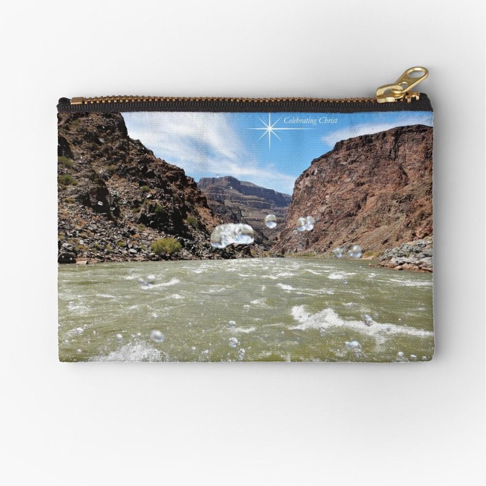 Colorado River Rafting Splash - From ccnow.info Zipper Pouch