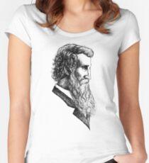 John Muir  Women's Fitted Scoop T-Shirt