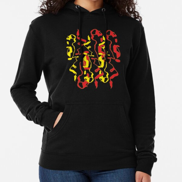 Frizzle Sticks but on black Lightweight Hoodie