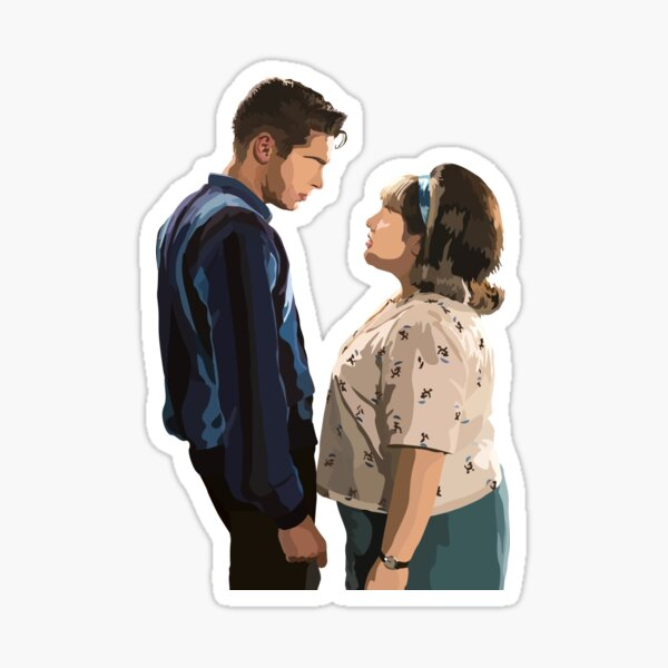 Tracy and Link (Hairspray) Sticker