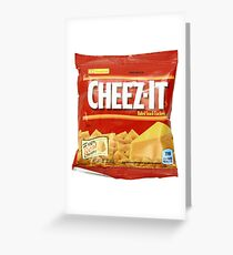 Cheez-Its Greeting Card