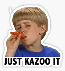 Just Kazoo It Sticker