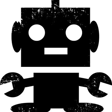 Cute Robot by PsychicCatStore