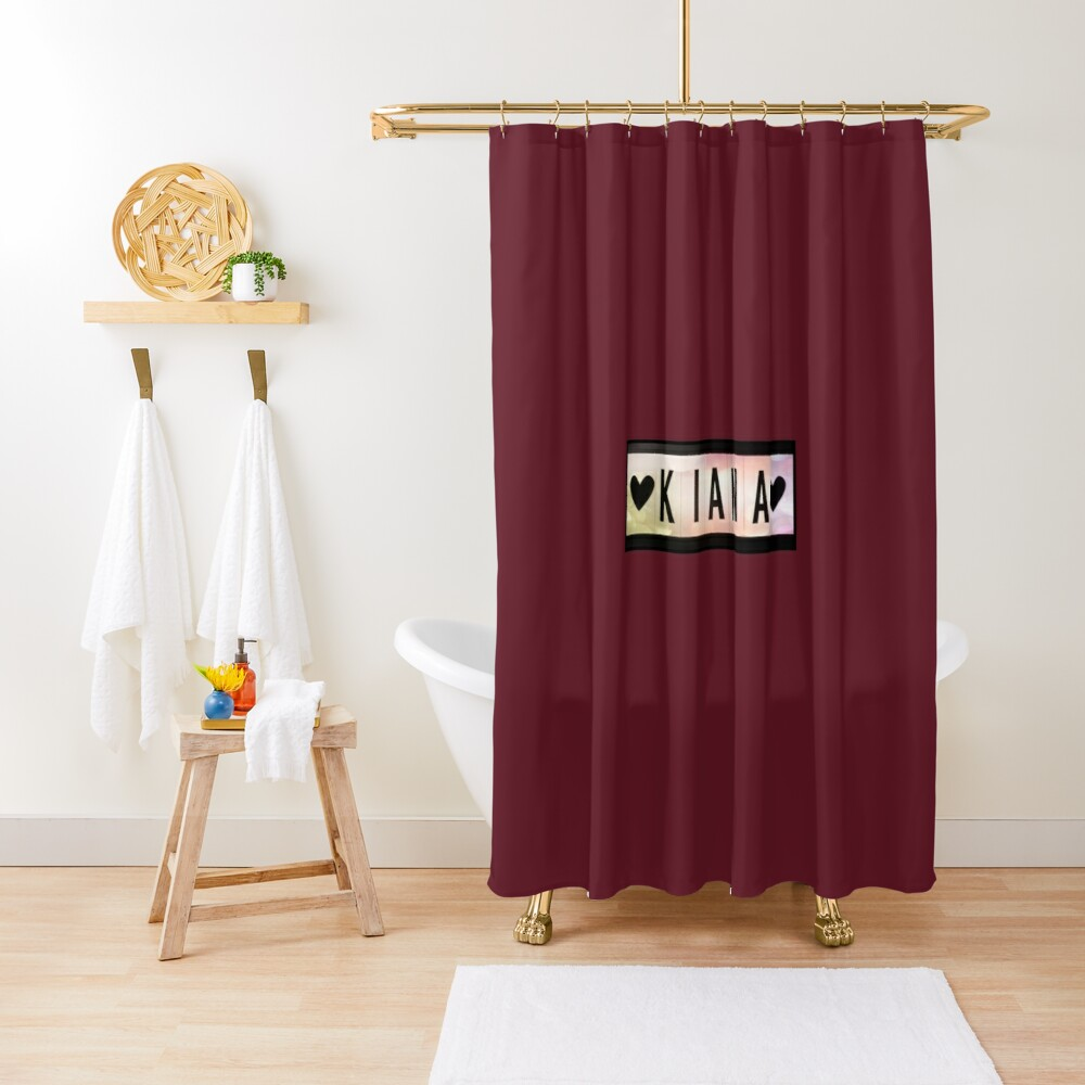 Kiana  Shower Curtain