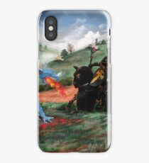 Slaying The Dragon iPhone Case/Skin