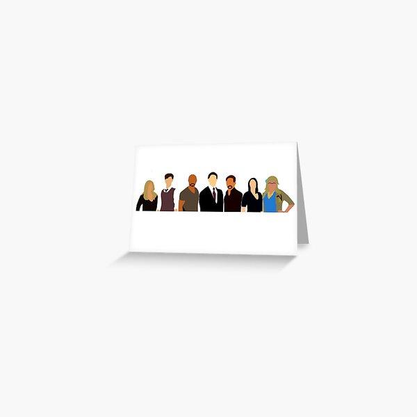 Criminal Minds: The Team Greeting Card