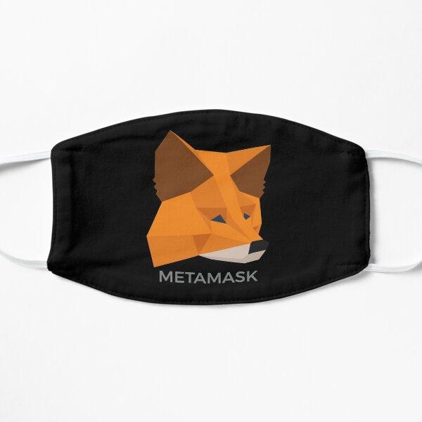 METAMASK FOX eth wallet crypto defi blockchain cryptocurrency fintech mask Flat Mask