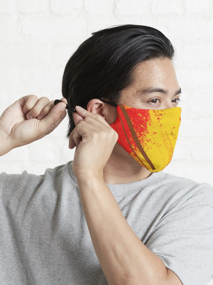 Alternate view of Sunny Daze Mask