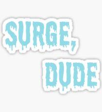 Jake and Amir - Surge, Dude Sticker