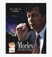 Morley Cigarettes Ad Photographic Print