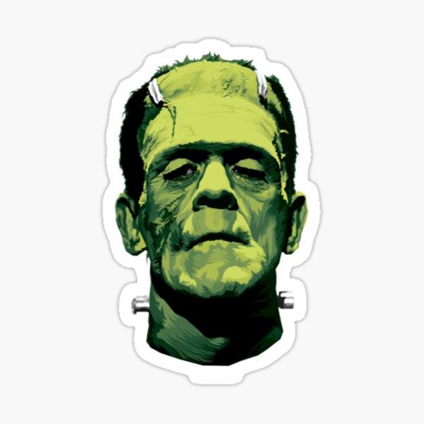 Frankenstein T-ShirtThe Monster (Classic Greens Version) Sticker