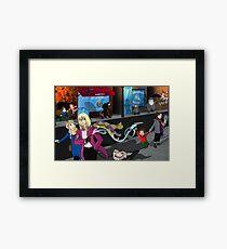 Modern Ghibli Framed Print