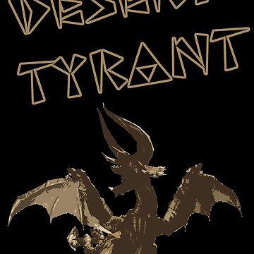 MH4U - Desert Tyrant by JordiRapture36