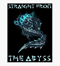 Lagia Straight from the Abyss Photographic Print