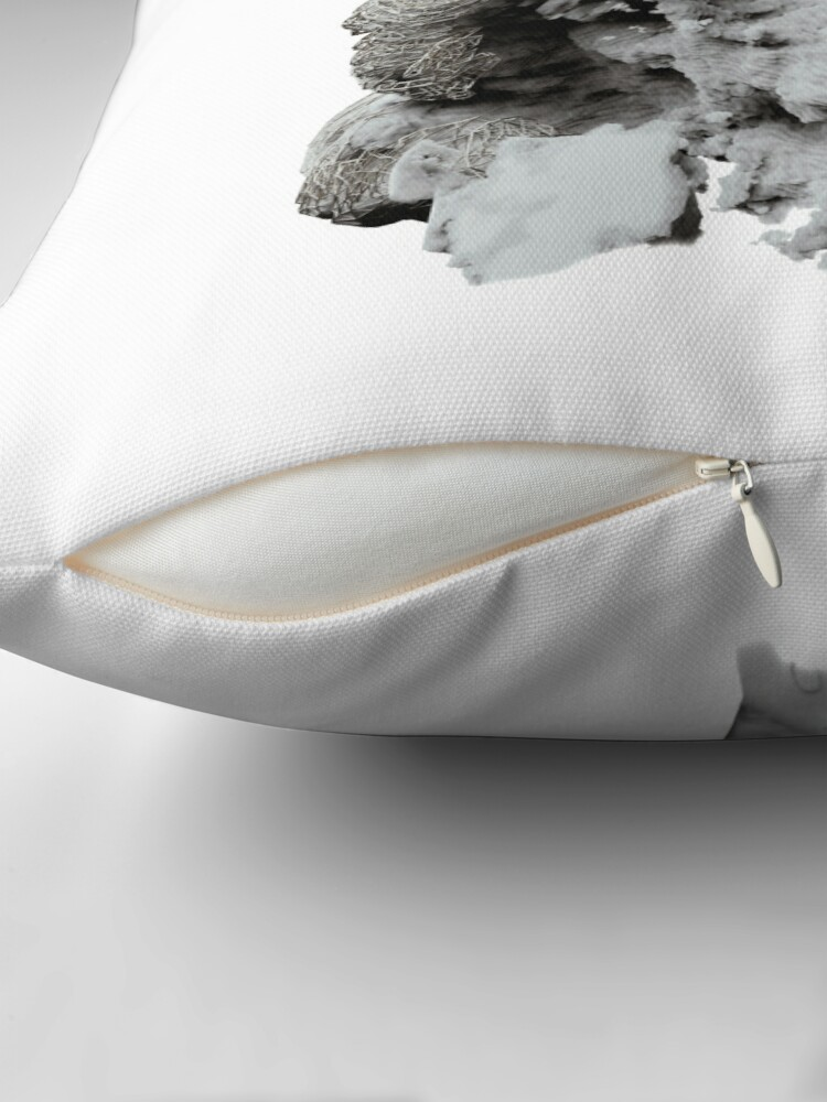 Alternate view of FACE IN CLOUDS Floor Pillow