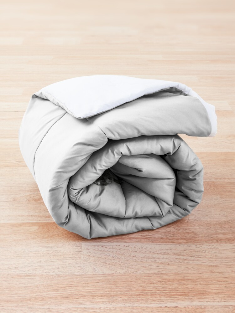 Alternate view of FACE IN CLOUDS Comforter
