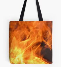 Born from Flames Tote Bag