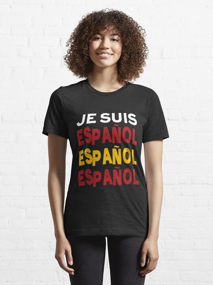 Alternate view of Je suis español  Essential T-Shirt