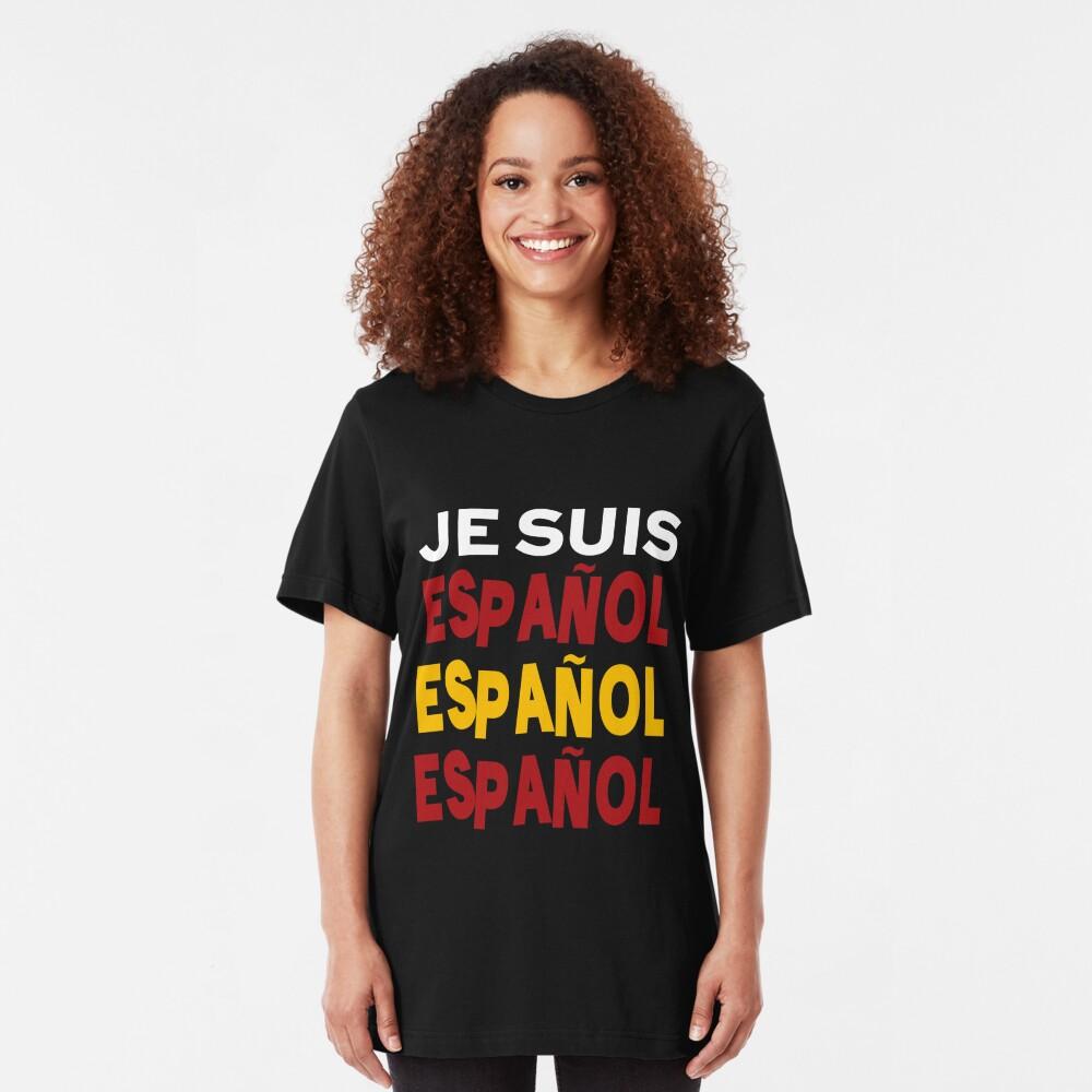 Je suis español  Slim Fit T-Shirt