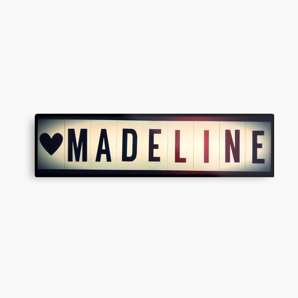 Madeline  Metal Print
