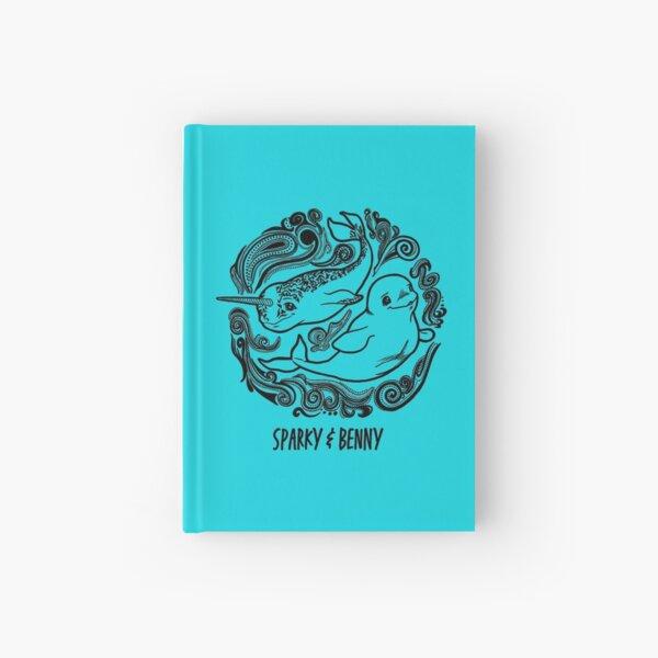 SparkyBenny Swirl Logo Hardcover Journal