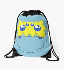 Is that a Joltik in your pocket? Drawstring Bag