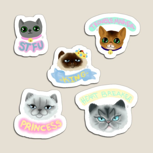 Cats Galore Magnet