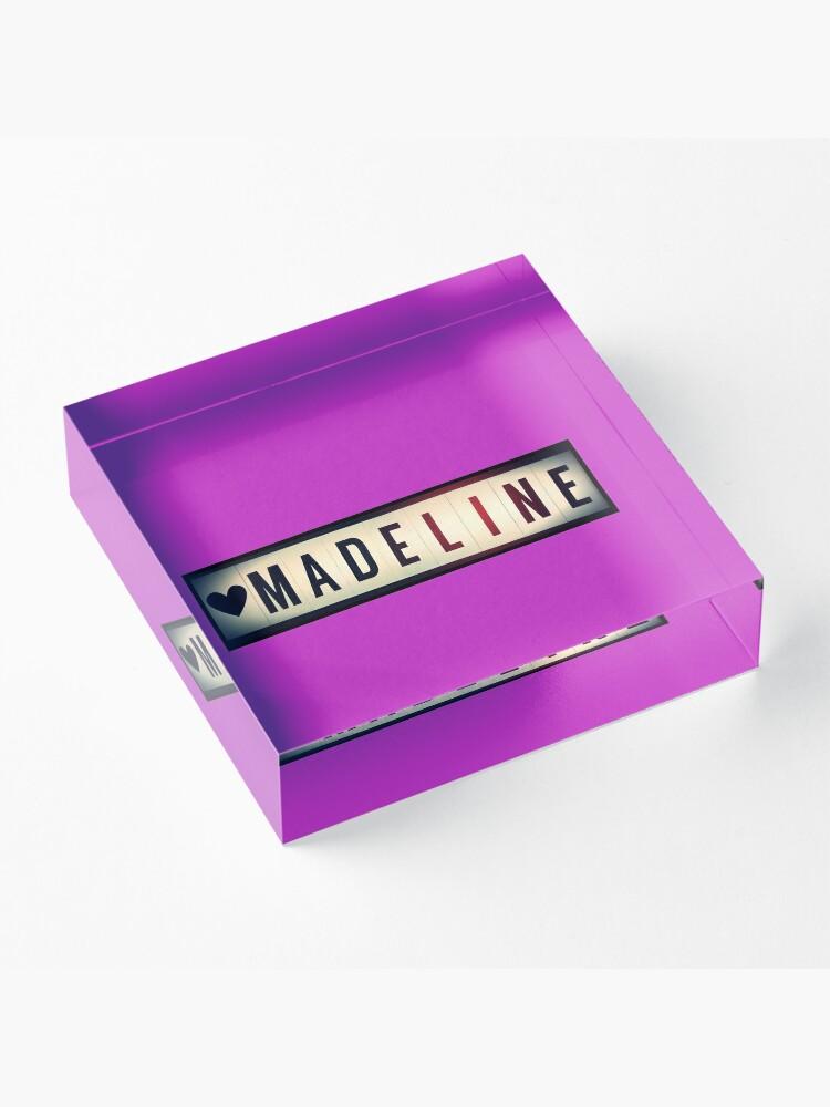 Alternate view of Madeline  Acrylic Block