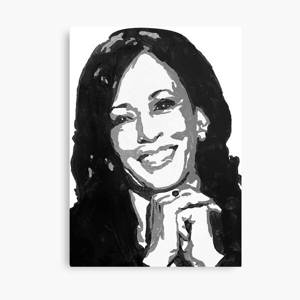US Vice President Kamala Harris Canvas Print