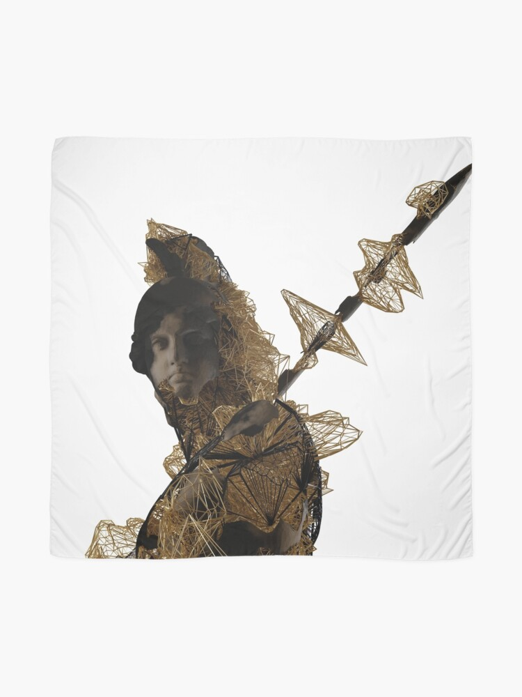 Alternate view of GOLDEN PRINCE 2 Scarf