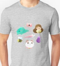 bee and puppycat, and wallace  Unisex T-Shirt