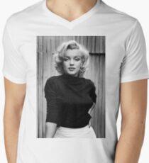 Marilyn Monroe Men's V-Neck T-Shirt