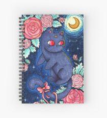Luna Kitty Spiral Notebook