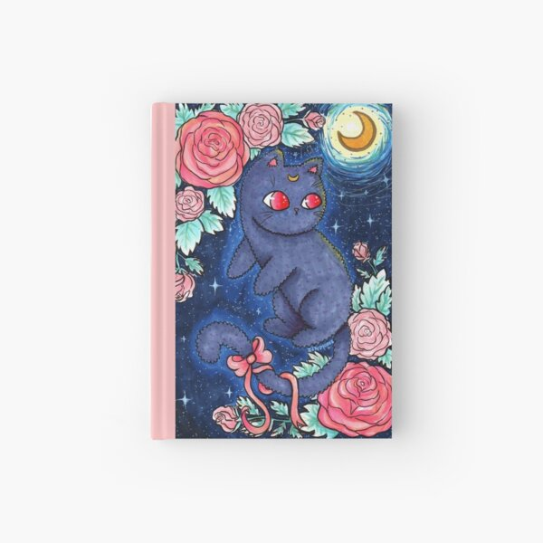 Luna Kitty Hardcover Journal
