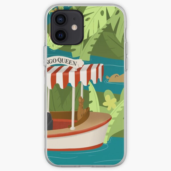 Cruising the jungle iPhone Soft Case