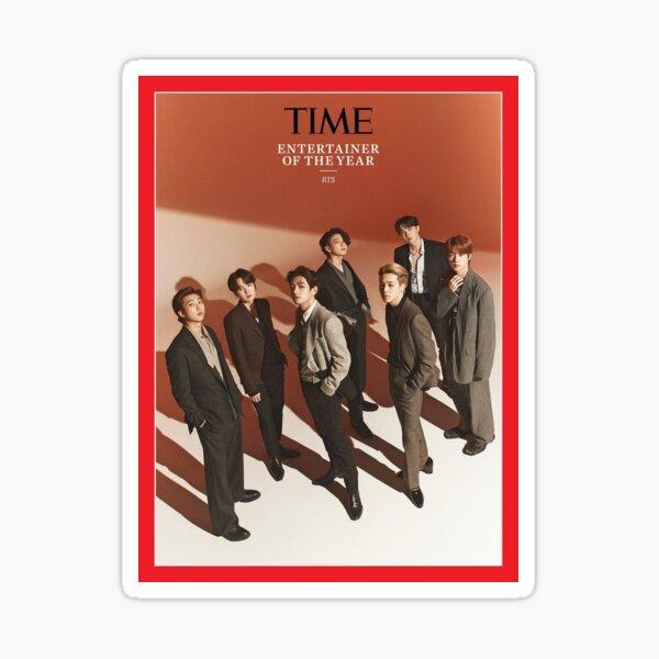 Couverture du magazine BTS TIME Sticker