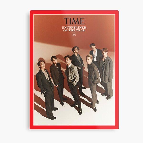 BTS TIME Magazine Cover Metal Print