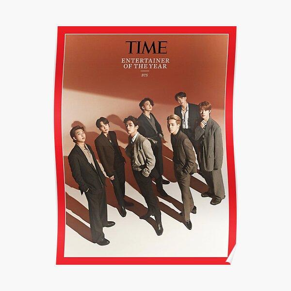 Couverture du magazine BTS TIME Poster