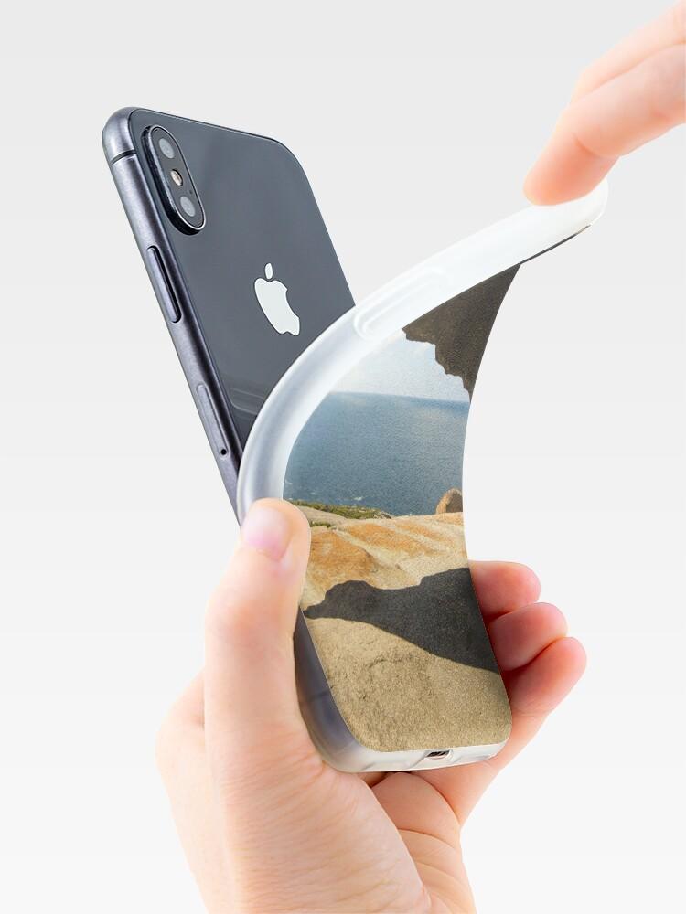 Alternate view of Remarkable Rocks, Flinders Chase, Kangaroo Island, South Australia iPhone Case & Cover