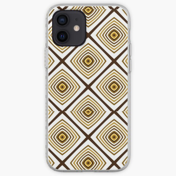 Geometric Triangles With Colorful Seamless Pattern iPhone Soft Case