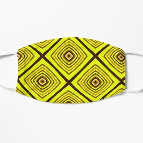 Geometric Triangles With Colorful Seamless Pattern Mask