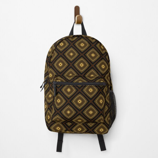 Geometric Triangles With Colorful Seamless Pattern Backpack