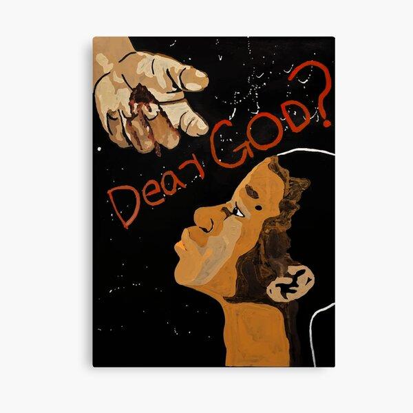 Dear God? Canvas Print
