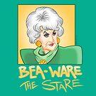BEA-WARE THE STARE by smartoonist