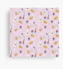 Tea and Sweets Canvas Print