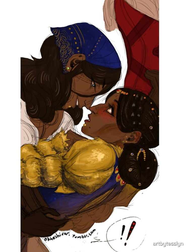 Josie and Isabella by artbytesslyn