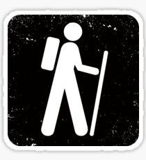 Hiking Sticker
